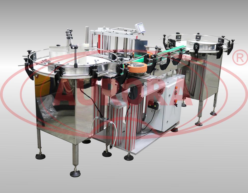 Модульная линия этикетировки и датировки АЭ-5 компакт для тары 10-500 мл