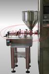 Моноблок для алюминиевых туб Мастер МЗ-400ЕД с прессом подачи продукта, с функцией впрыска азота