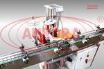 Модульная линия этикетировки и датировки АЭ-5 для цилиндрической тары объемом 50-100 мл