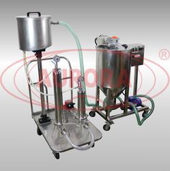 Емкость для приготовления и хранения продукта с насосом ЕМК-Р 80 из нержавеющей стали AISI316L