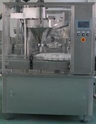 Автоматический моноблок фасовки и укупорки сыпучих продуктов МЗ-400ЕД