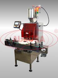 Двухсопельный дозатор МД-500Д2П с транспортером, рубашкой подогрева и устройством перемешивания