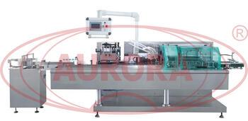 Автоматическая картонажная машина на для упаковки ПЭТ-флаконов в коробки АКМ -6000