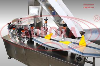 Автоматический ориентатор ПЭТ-тары ОТ-400 с ленточным транспортером