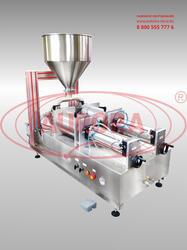 Двухсопельный полуавтоматический дозатор МД-500Д5 с механизмом опускания сопел