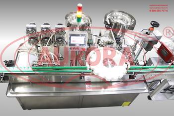 Моноблок розлива и укупорки хлоргексидина МАСТЕР МЗ-400ЕД