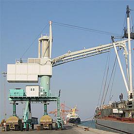 Установка для разгрузки судов Portanova RSKP