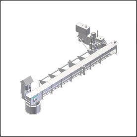 Вращающийся цепной конвейер RotaLink RCRA для разгрузки силосов