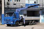 Автомобиль КАМАЗ-65117 с КМУ Tadano