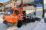 Эвакуатор с краном-манипулятором КАМАЗ-4308 сдв.