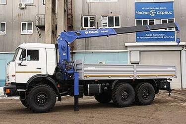 Автомобиль КАМАЗ-43118 с КМУ Tadano