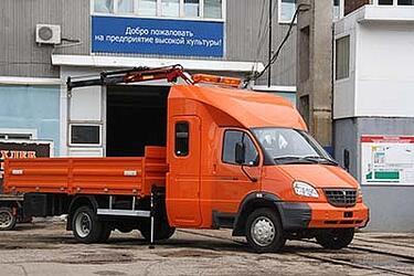 """Двухрядный 7-местный ГАЗ-33106 """"Дорожный Мастер"""" c КМУ Amco Veba 103 2s"""