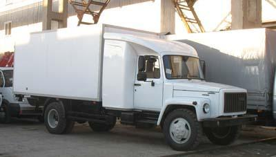 ГАЗ-3309 с закабинным спальником