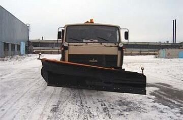 Отвал скоростной конический на а/м КАМАЗ-МАЗ