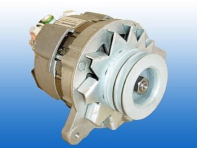 Автомобильный генератор A125/19/-28V-45A.