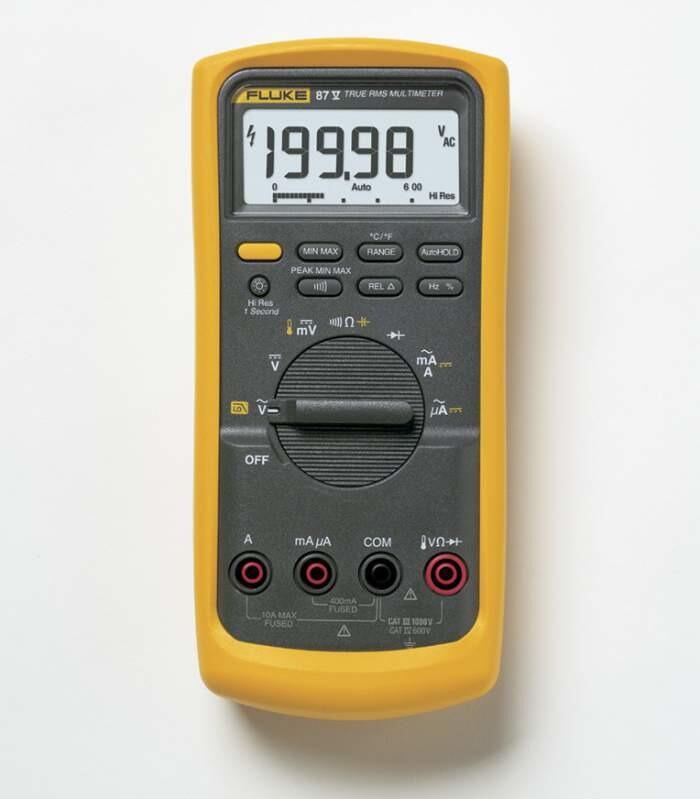 Fluke 87-V Цифровой мультиметр (Промышленый тестер-пробник). Внесён в реестр РК