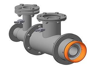 Горелка комбинированная газовая, жидкотопливная вихревая ГГВ-75