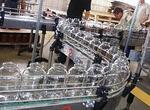 Конвейер для консервных банок и стеклотары