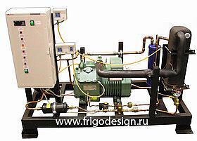 Низкотемпературные холодильные машины для охлаждения промежуточного хладоносителя