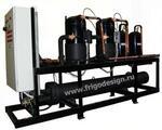 Высокоэффективные чиллеры (холодильные машины) на базе спиральных компрессоров Copeland