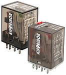 Промежуточные реле общепромышленные KIPPRIBOR серии RP (4-контактные)