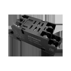 Монтажные колодки KIPPRIBOR PYF-025BE и PYF-045BE (для 2- и 4-контактных промежуточных реле)