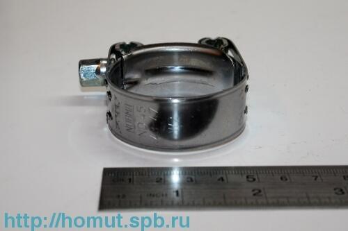 Хомут NORMA усиленный нержавеющий (45) (43-47 мм)