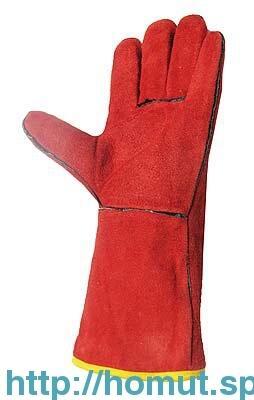 Перчатки-краги с мехом 2631