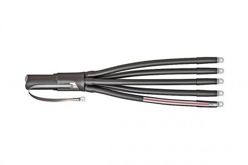 Концевые кабельные муфты  не поддерживающие горение 5ПКТп-нг-LS-1 5ПКТп(б)-1-70/120(Б) нг-LS (™КВТ)