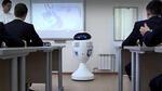 В казанском лицее прошёл урок, который вёл первый в России учитель-робот