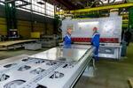 В Белгороде открыто производство опорно-подвесных систем трубопроводов