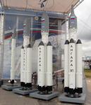 Ракета с омским модулем