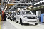 На автомобильном рынке РФ растет доля отечественных марок