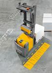 Jungheinrich EKS 215a: автоматический подъем грузов на высоту до 6 метров