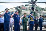 Улан-Удэнский авиационный завод передал ВКС России вертолет Ми-8АМТШ «Ряфагать Хабибуллин»