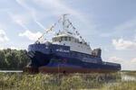 Cпущено на воду многофункциональное морское водолазное судно-катамаран проекта SDS18