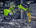 Малогабаритная машина «Бетонолом 2000» для демонтажных работ