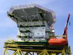 Российская морская ледостойкая стационарная платформа Д-6
