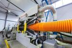 В Свердловской области открылся завод по производству гофрированных полипропиленовых труб