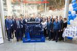 КАМАЗ запустил новый конвейер по производству двигателей Р6
