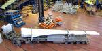 В ЦАГИ доставлена консоль крыла МС-21 для проведения ресурсных испытаний