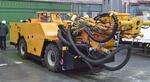 ПНИТИ представил новую буровую подземную машину колонного бурения