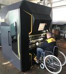 Компания СТАН разработала металлообрабатывающий станок для людей с ограниченными возможностями
