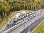 Газпром запустил строительство первых в России криозаправок на трассе М-11 Москва-Петербург