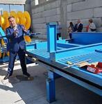 В Северной Осетии запущено производство железо-бетонных конструкций и шпалер для садоводства