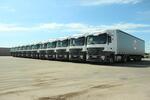 20 грузовиков Mercedes-Benz Actros пополнили парк ГК «Трансальянс»