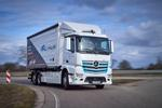 Полностью электрический Mercedes-Benz eActros проходит эксплуатационные испытания