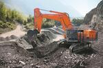 В России стартовали продажи новой модели карьерного экскаватора Hitachi EX1200-7