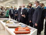 «Омсктрансмаш» показал министру промышленности России образцы инновационной техники