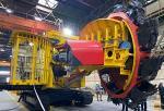 Предприятие «Дробмаш» представило первый российский компактный роторный экскаватор КРЭ-400